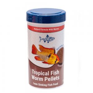 FishScience Tropical Fish Worm Pellets